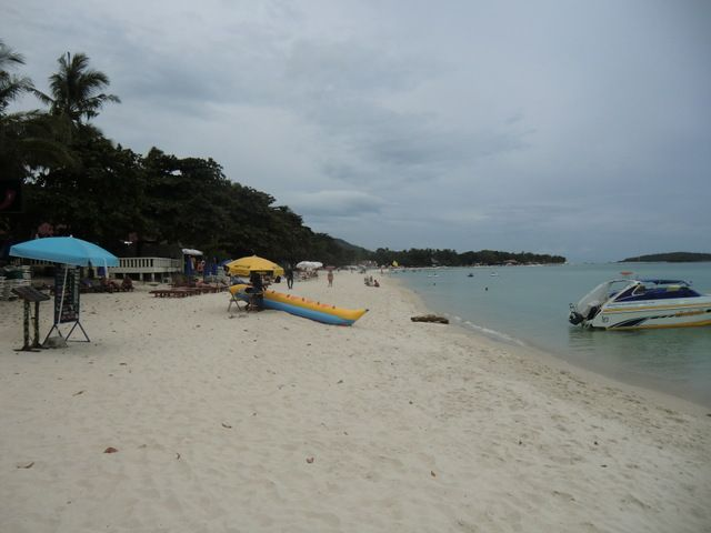 Chaweng Beach linksseitig